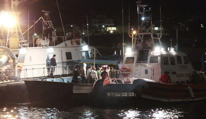 Συλλογή μεταναστών στη Λιβύη