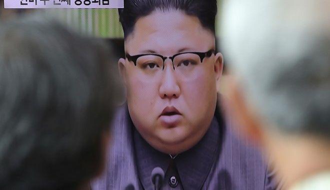 Ο βορειοκορεάτης ηγέτης Κιμ Γιονγκ Ουν