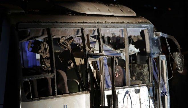 Τροχαίο με λεωφορείο στην Αίγυπτο (φωτογραφία αρχείου)