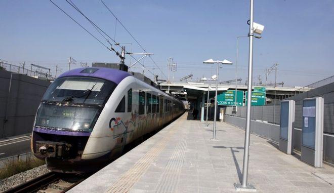 ΑΘΗΝΑ-παραδόδηκε σήμερα στο επιβατικό κοινό ο σταθμός του Σιδηροδρομικού Κέντρου Αχαρνών (ΣΚΑ) της ΤΡΑΙΝΟΣΕ// ΣΤΗ ΦΩΤΟΓΡΑΦΙΑ Ο ΣΤΑΘΜΟΣ ΑΧΑΡΝΑΙ ΤΟΥ ΠΡΟΑΣΤΙΑΚΟΥ.(EUROKIISSI-ΒΑΙΟΣ ΧΑΣΙΑΛΗΣ)