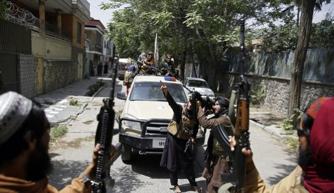 Ταλιμπάν κάνουν περιπολίες στην Καμπούλ