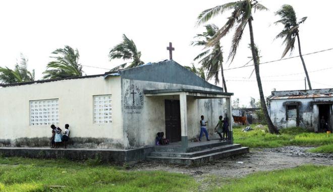 Καρέ από τον κυκλώνα Ιντάι στη Μοζαμβίκη
