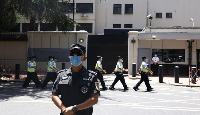 Κινέζοι αστυνομικοί.