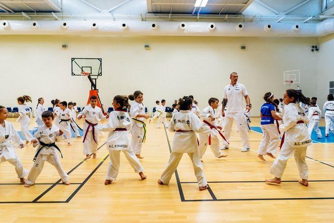 Μαθήματα taekwondo από τον δις αργυρό Ολυμπιονίκη Αλέξανδρο Νικολαΐδη