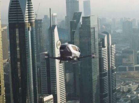 Επιστροφή στο Μέλλον: Πέταξε το πρώτο ιπτάμενο ταξί στις ΗΠΑ