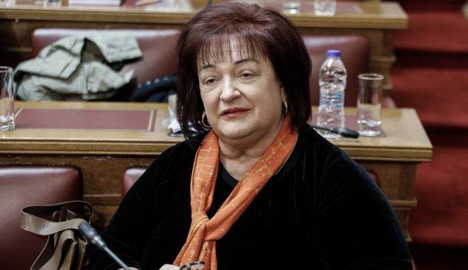 Η πρώην Υπουργός Παιδείας, Μαριέττα Γιαννάκου