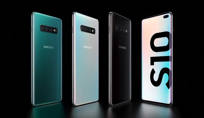 Τα νέα μοντέλα Samsung Galxy s10 και S10+
