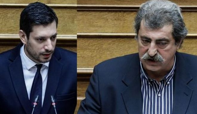 Οι Κωνσταντίνος Κυρανάκης και Παύλος Πολάκης