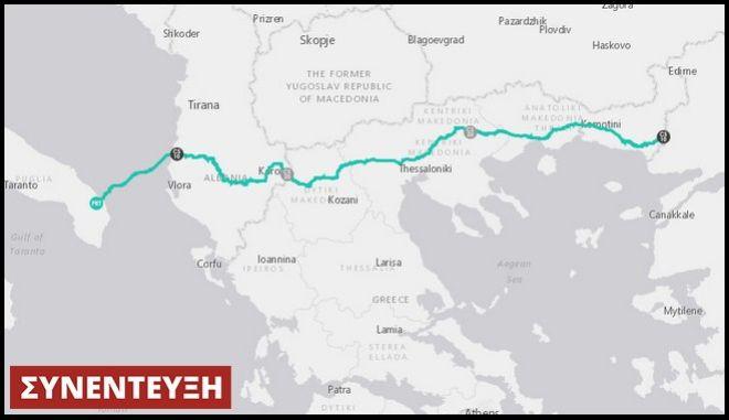 Αγωγός TAP: Το 'κλειδί' για να γίνει η Ελλάδα από πελάτης, κόμβος παροχής αερίου