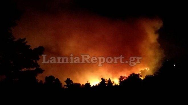 Σε εξέλιξη η φωτιά στη Σέτα Ευβοίας - Νέο μέτωπο στην Πάτρα