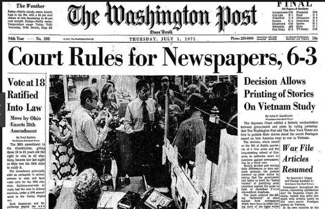 Pentagon Papers: Τα ψέμματα των ΗΠΑ για το Βιετνάμ πριν το Watergate