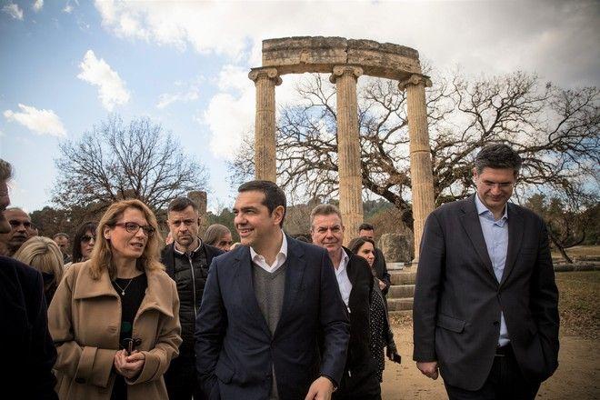 Περιοδεία του προέδρου του ΣΥΡΙΖΑ Αλέξη Τσίπρα στο νομό Ηλείας