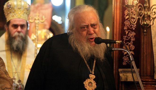 Την παραίτησή του ανακοίνωσε την Κυριακή 20 Ιανουαρίου 2013 ο Μητροπολίτης Αργολίδας κ Ιάκωβος κατά τη διάρκεια της δοξολογίας για την εορτή της Μετακομιδής των Ιερών Λειψάνων του Αγίου Πέτρου στο Άργος. (EUROKINISSI/ΒΑΣΙΛΗΣ ΠΑΠΑΔΟΠΟΥΛΟΣ)