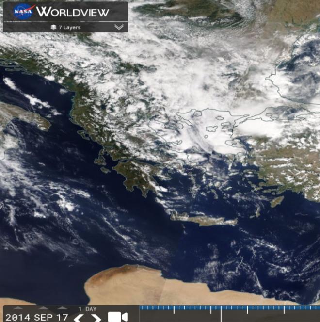 Καιρός: Υψηλές θερμοκρασίες και αφρικανική σκόνη την Παρασκευή