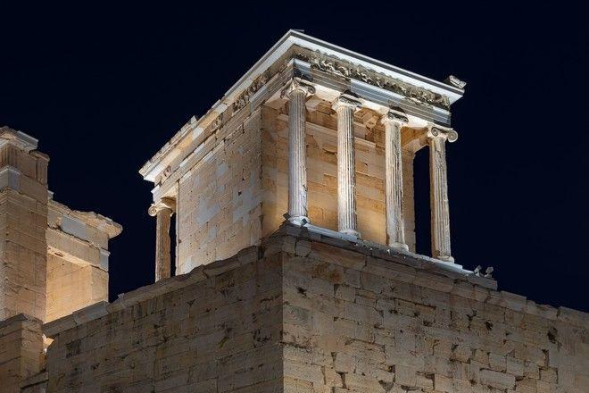 Αποδίδεται την Τετάρτη 30 Σεπτεμβρίου 2020, το έργο της αναβάθμισης του φωτισμού στον Ιερό Βράχο της Ακρόπολης