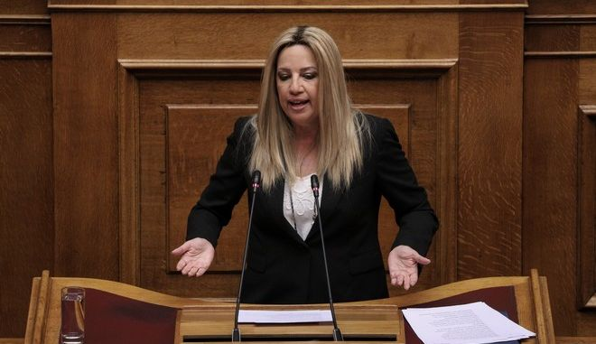 Συζήτηση και ψήφιση επί της αρχής, των άρθρων και του συνόλου του σχεδίου νόμου του Υπουργείου Εσωτερικών «Ρυθμίσεις του Υπουργείου Εσωτερικών, διατάξεις για την ψηφιακή διακυβέρνηση και άλλα επείγοντα ζητήματα». Στο βήμα η Φώφη Γεννηματά.