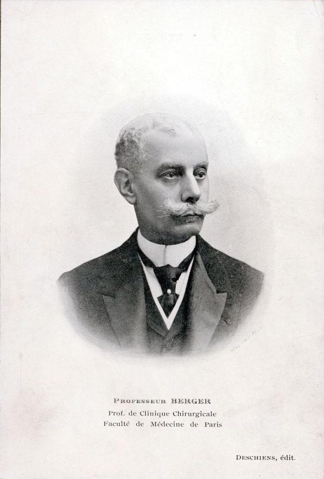Ο Γάλλος χειρουργός Paul Berger.