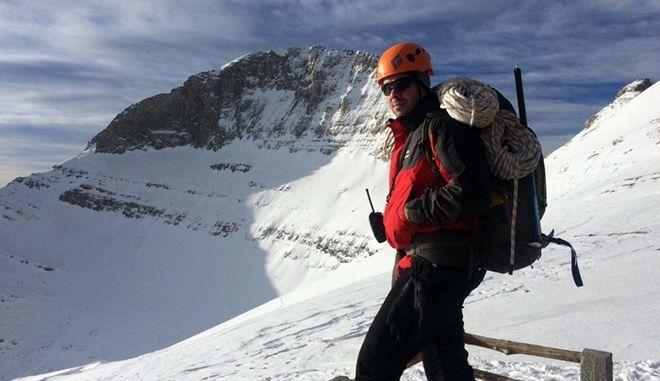 Στιγμιότυπο από επιχείρηση για τη διάσωση ορειβάτη που είχε τραυματιστεί στον Όλυμπο, Αρχείο