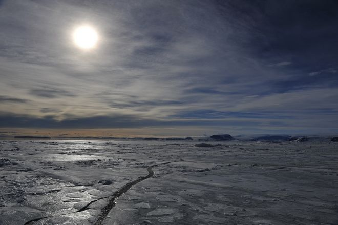 Εμφανείς οι συνέπειες της κλιματικής αλλαγής στον Βόρειο Πόλο