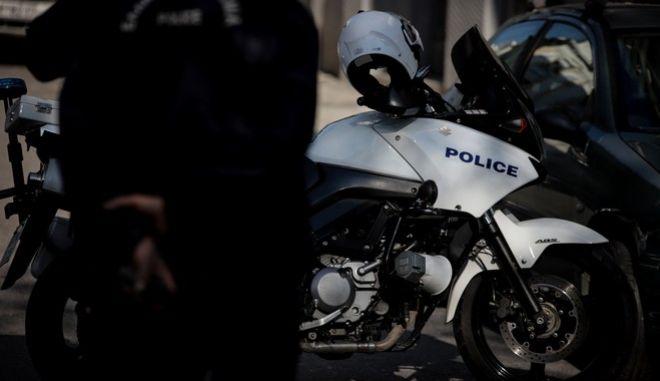 Μοτοσικλέτα της αστυνομίας