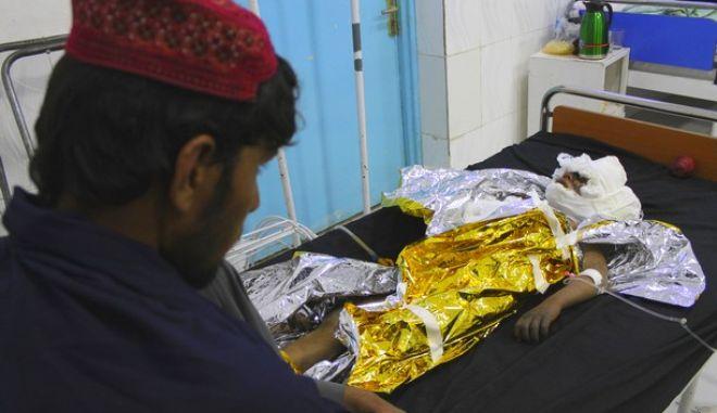 Τραυματισμένο παιδί στο Αφγανιστάν
