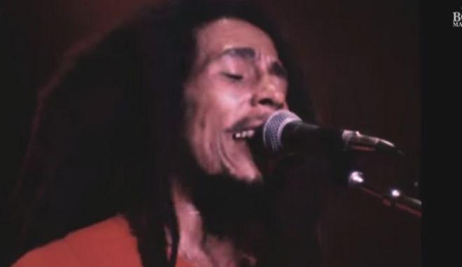 Βίντεο - ντοκουμέντο: Ακυκλοφόρητα πλάνα συναυλίας του Bob Marley από το 1978 Bob