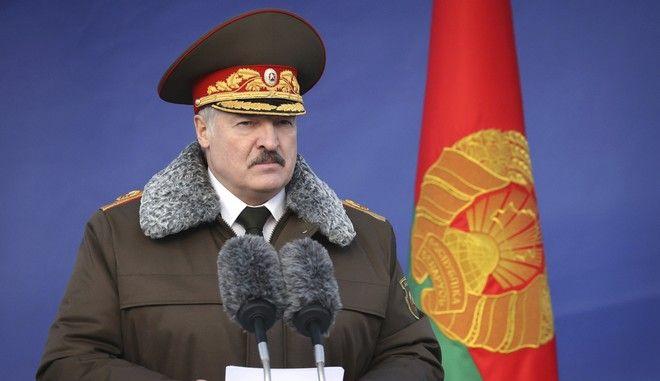 Ο πρόεδρος της Λευκορωσίας Αλεξάντερ Λουκασένκο