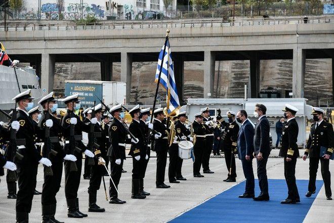Τελετή ένταξης δύο νέων περιπολικών σκαφών στον στόλο του Λιμενικού Σώματος - Ελληνική Ακτοφυλακή.