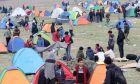Διαβατά: Παραμένουν για τρίτη μέρα στον άτυπο καταυλισμό οι πρόσφυγες