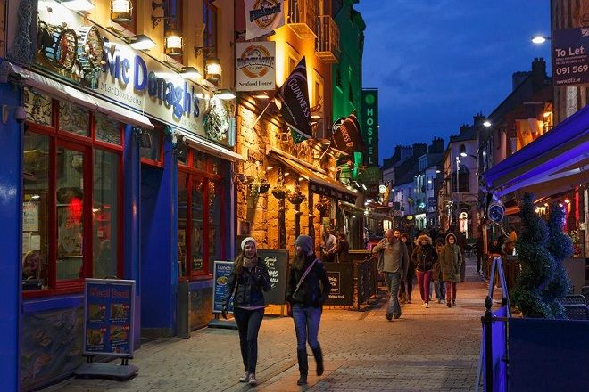 Galway nightlife, Ireland.