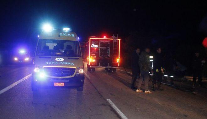 Στιγμιότυπο από τροχαίο δυστύχημα , Φωτογραφία Αρχείου