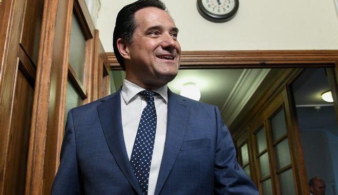 Ο υπουργός Ανάπτυξης και Επενδύσεων Άδωνις Γεωργιάδης