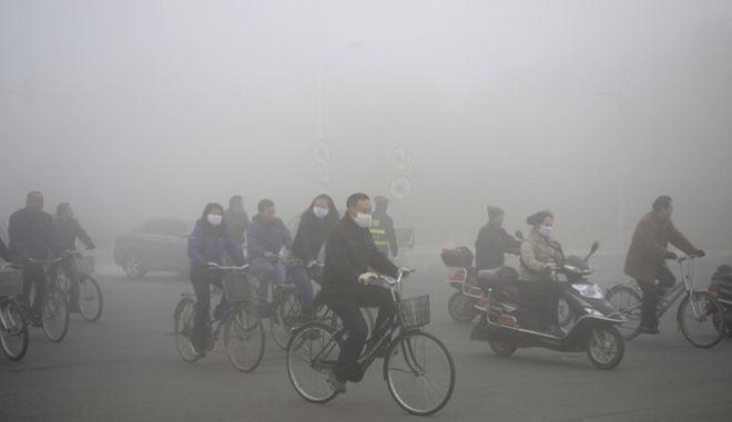 Σύννεφο νέφους θα καλύψει τη βόρεια Κίνα