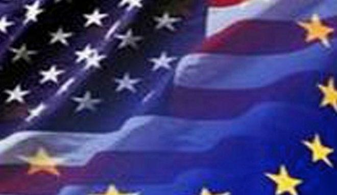 """Στα """"σκαριά"""" η εμπορική συμφωνία μεταξύ Ε.Ε και ΗΠΑ"""