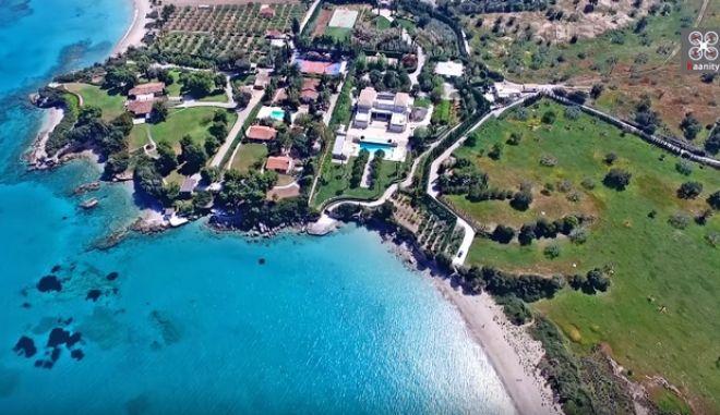 20 εκατ. ευρώ: Το ακριβότερο σπίτι της Ελλάδας στο απόλυτο γαλάζιο