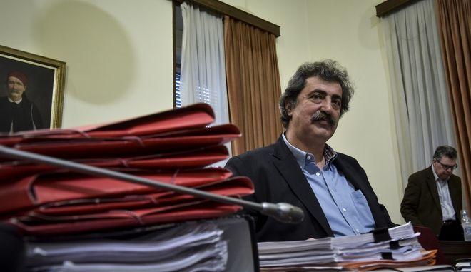 Συνεδρίαση της Εξεταστικής Επιτροπής για τη διερεύνηση σκανδάλων στον χώρο της Υγείας κατά τα έτη 1997 - 2014, την Τετάρτη 28 Μαρτίου 2018. (EUROKINISSI/ΤΑΤΙΑΝΑ ΜΠΟΛΑΡΗ)
