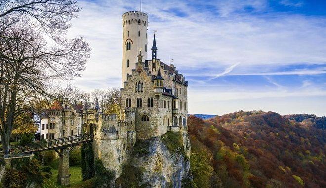 """Τα ομορφότερα κάστρα της Ευρώπης. Ανάμεσα τους και το """"δικό"""" μας, της Ρόδου"""