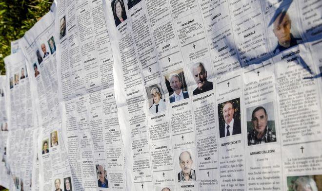 Εκατοντάδες θύματα στην πολύπαθη Ιταλία
