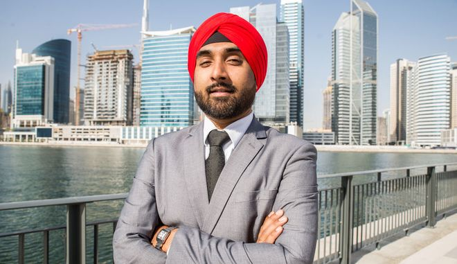 Ινδός επιχειρηματίας (Φωτογραφία Αρχείου)