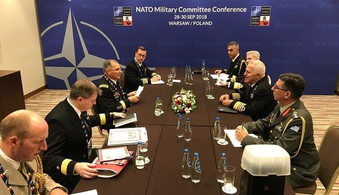 Συμμετοχή Αρχηγού ΓΕΕΘΑ στη Σύνοδο της Στρατιωτικής Επιτροπής του ΝΑΤΟ