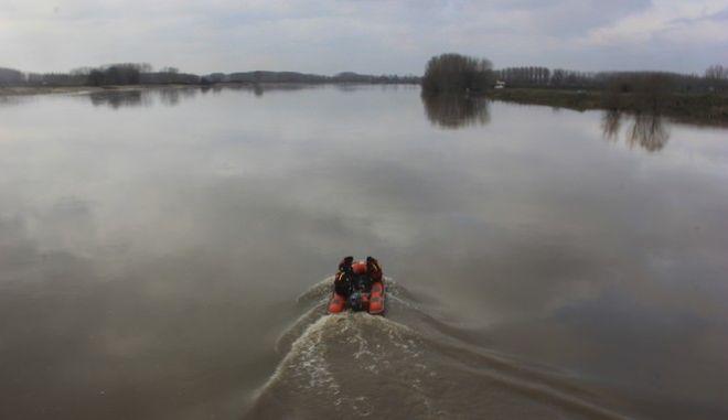 Στιγμιότυπο από τον ποταμό Έβρο