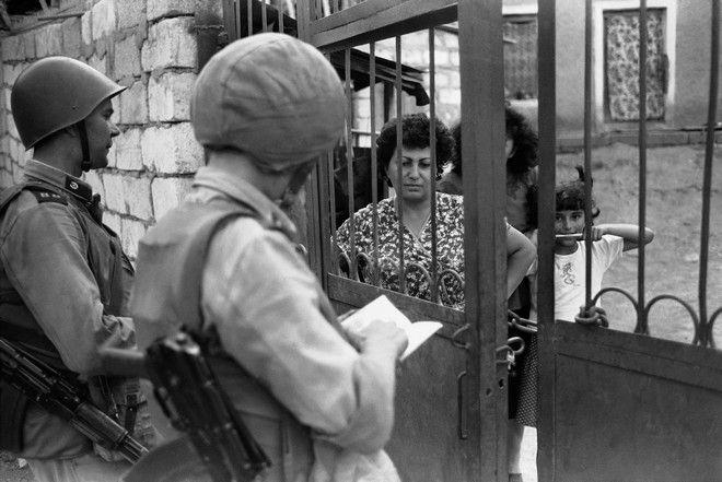 Σοβιετικά στρατεύματα στο Ναγκόρνο-Καραμπάχ το 1989