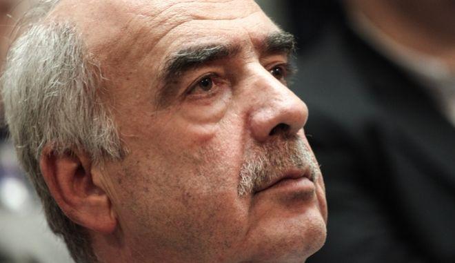 Ο πρώην πρόεδρος της ΝΔ και πρόεδρος της Βουλής, Βαγγέλης Μεϊμαράκης