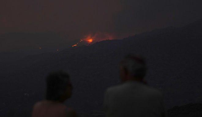 Φωτιά στην Κύπρο