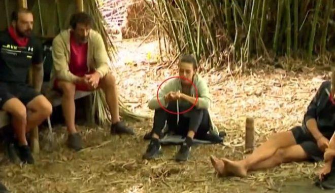 Η Κάτια Ταραμπάνκο στην καλύβα των Διασήμων στο Survivor
