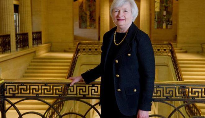 Η Τζάνετ Γέλεν η ισχυρότερη τραπεζίτης του κόσμου