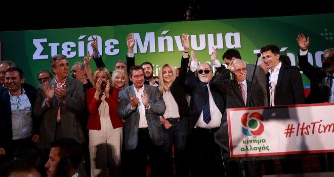 Από την προεκλογική ομιλία της Φ.Γεννηματά στην Αθήνα