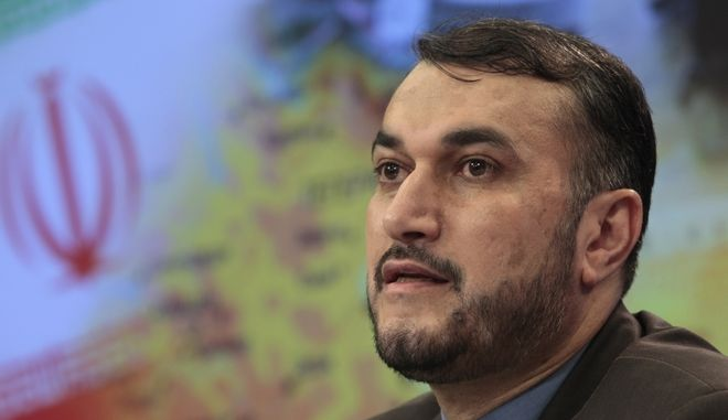 Ο Ιρανός υπουργός Εξωτερικών Χοσεΐν Αμίρ-Αμπντολαχιάν