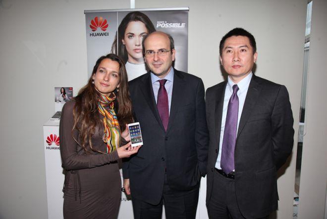 Η Huawei ανακοίνωσε την έναρξη λειτουργίας του κέντρου διανομής της στο Σταθμό Εμπορευματοκιβωτίων Πειραιά