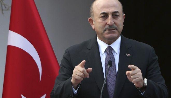 Ο Τούρκος ΥΠΕΞ Μεβλούτ Τσαβούσογλου